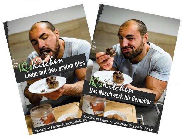 """Back- und Dessertbücher - Bundle """"Liebe auf den ersten Biss"""" & """"Naschwerk für Genießer"""""""